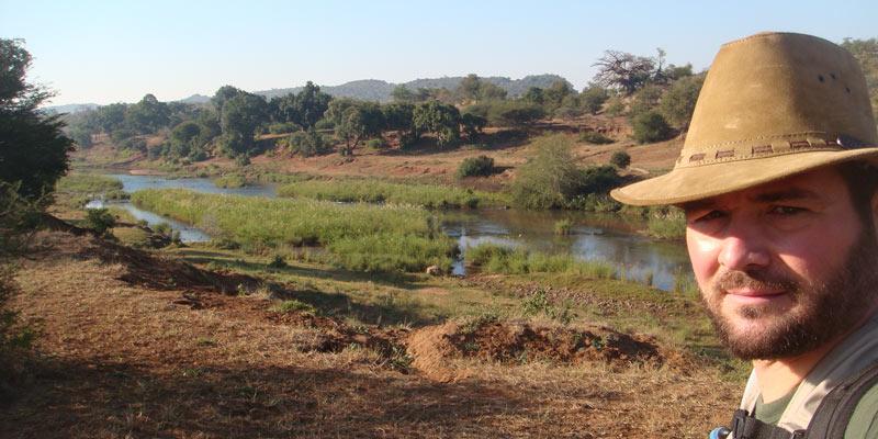 river bank - gem stone minery